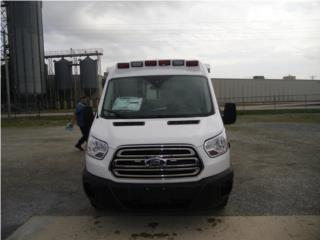 AMBULANCIAS 2019 FORD TRANSIT GAS ENVIO YA , Ford Puerto Rico