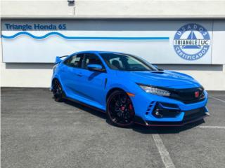 Type R | Nuevo color Boost Blue, Honda Puerto Rico