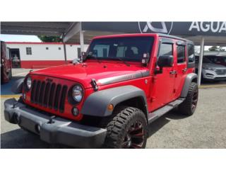 JEEP WRANGLE SPORT 2016(SOLO 33K), Jeep Puerto Rico