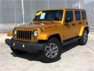 JEEP WRANGLER RUBICON 2014 ¡4X4!, Jeep Puerto Rico