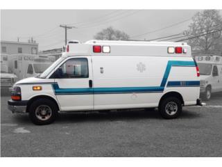 AMBULANCE 2012 CHEVY DIESEL 101K 41635, Chevrolet Puerto Rico