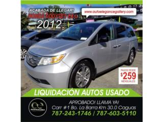 HONDA ODDYSEY EX-L PIEL S/R, Honda Puerto Rico