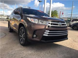 TOYOTA HIGHLANDER /V6/AWD/AT/PIEL/2017 BELLA, Toyota Puerto Rico