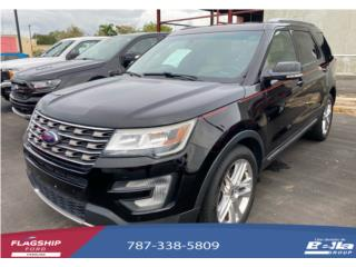Ford Explorer 2016 XLT Pielcrema , Ford Puerto Rico