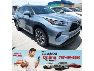 HIGHLANDER 2020 LA MAS BUSCADA CAJA NUEVA!!!!, Toyota Puerto Rico