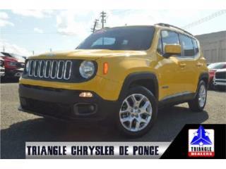 2016 Jeep Renegade Latitude, T6C47046, Jeep Puerto Rico