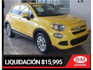 2017 FIAT 500X TURBO $15,995, Fiat Puerto Rico