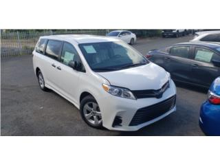 TOYOTA SIENNA DEL 2020/GARANTIA DE POR VIDA, Toyota Puerto Rico