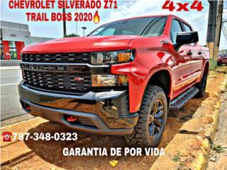 AQUÍ PAGAS MENOS CHEVROLET SILVERADO Z71 2020, Chevrolet Puerto Rico