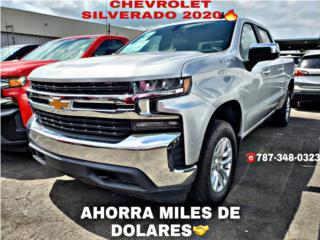AQUÍ PAGAS MENOS CHEVROLET SILVERADO LT 2020, Chevrolet Puerto Rico