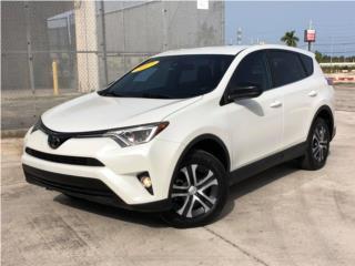 TOYOTA RAV-4 LE 2017 ¡ESPECTACULAR!, Toyota Puerto Rico