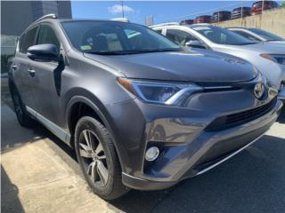 Rav-4 XLE desde $26,995, Toyota Puerto Rico