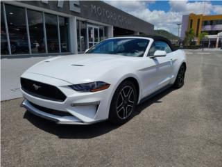 Ford Mustang Convertible 2019 Eco Boost, Ford Puerto Rico