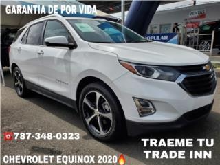 PAGAS MENOS//CHEVROLET EQUINOX LT 2020, Chevrolet Puerto Rico