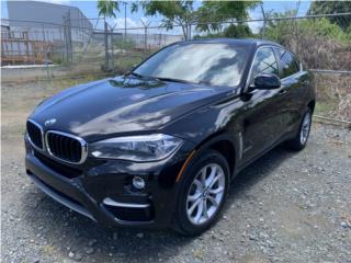 BMW X6 2016 SOLO 17 MIL MILLAS $41900, BMW Puerto Rico