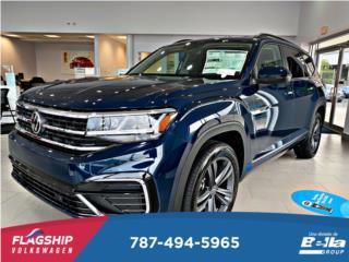 VOLKSWAGEN ATLAS SE *RLINE* WITH TECH V6 2021, Volkswagen Puerto Rico