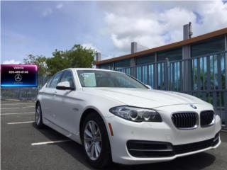 BMW 528i 2014   White/Crema   Sunroof, BMW Puerto Rico