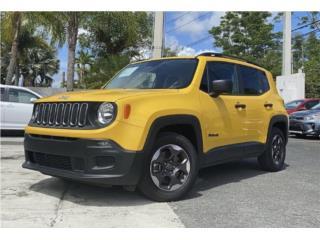 Jeep Renegade Sport LTD* ¡Poco Millaje!, Jeep Puerto Rico