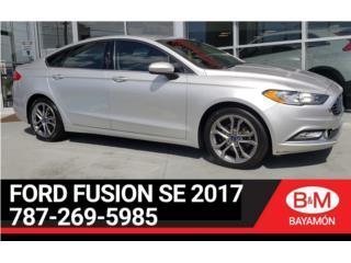 2017 FORD FUSION SE SOLO 9K MILLAS, Ford Puerto Rico