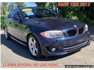 BMW 128i 2013 CON PAGOS DESDE SÓLO 229, BMW Puerto Rico