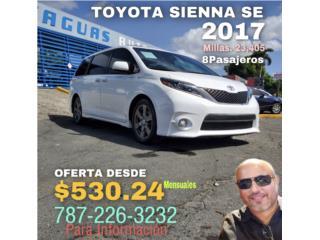 Toyota SIENNA SE liquidación , Toyota Puerto Rico