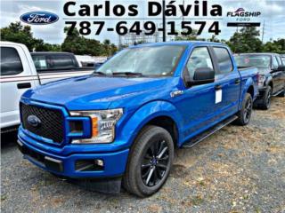 F150 STX 4x4 Azul 2020 4 Puertas llama, Ford Puerto Rico