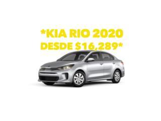 Kia Rio 2020 desde $16,289cero millas , Kia Puerto Rico
