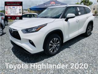 Toyota Highlander XLE 2020, Toyota Puerto Rico