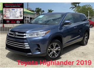 Toyota Highlander LE 2019 , Toyota Puerto Rico
