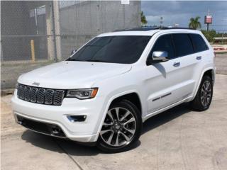 JEEP GRAND CHEROKEE OVERLAND 2018 ¡ELEGANTE!, Jeep Puerto Rico
