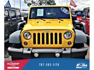 JEEP WRANGLER 2015 Amarillo llama, Jeep Puerto Rico
