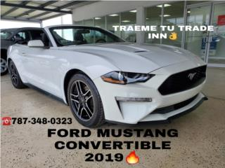 AHORRA MILES//FORD MUSTANG CONVERTIBLE 2019, Ford Puerto Rico