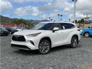 2020 Toyota Highlander Platinum - White, Toyota Puerto Rico