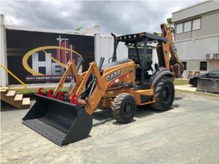 2012 Case 580N, Equipo Construccion Puerto Rico