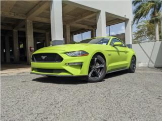 Mustang GT 2020 Grabber Lime, Ford Puerto Rico