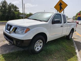 NISSAN FRONTIER 2018  Cab 1/2  20 mil millas, Nissan Puerto Rico