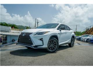 LEXUS RX 350 FSPORT 2017 CON 13K MILLAS, Lexus Puerto Rico