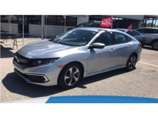 HONDA CIVIC LX'19, $22,995, USADO CERTIFICADO, Honda Puerto Rico