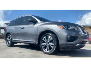 2018 Pathfinder Platinum • $397 mensual , Nissan Puerto Rico