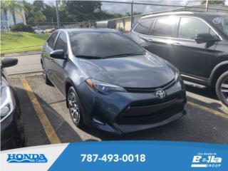 Toyota Corolla L 2019, Toyota Puerto Rico