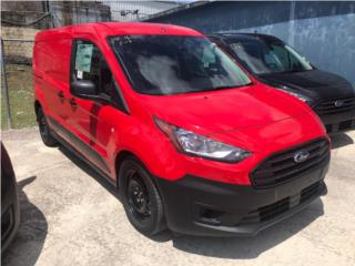Ford Transit Connect 2021 roja, Ford Puerto Rico