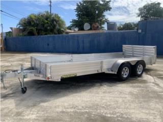 Trailer en aluminio tamaño 6x18 importado , Trailers - Otros Puerto Rico