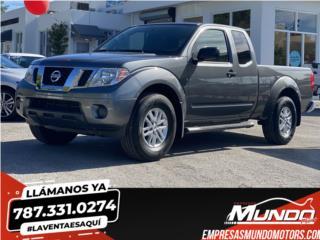 NISSAN FRONTIER 2019 SV  **LLAMA YA**, Nissan Puerto Rico