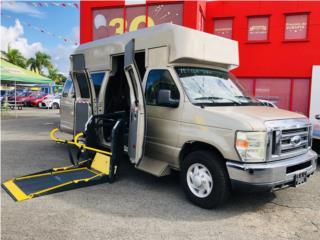 Econoline con rampa para silla de ruedas , Ford Puerto Rico