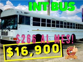 INTERNATIONAL BUS 44 PASAJEROS RAMPA IMPEDID , International Puerto Rico