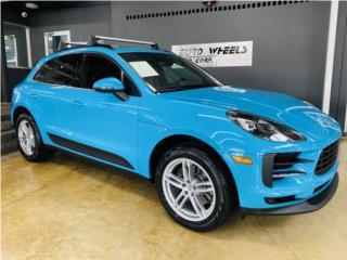 PORSCHE MACAN MIAMI BLUE 2020, Porsche Puerto Rico