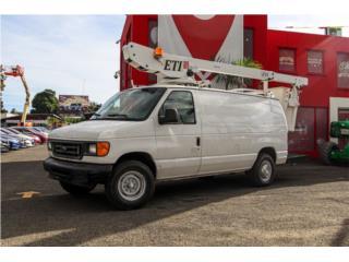 Ford 350 con canasto hidraulico, Ford Puerto Rico