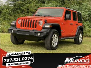 JEEP WRANGLER 2020  4X4  **TRAIL RATED**, Jeep Puerto Rico