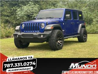 JEEP WRANGLER 2020 T.R.  4X4  *FUEL OFF-ROAD*, Jeep Puerto Rico