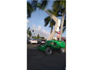 JLG M600JP, Equipo Construccion Puerto Rico